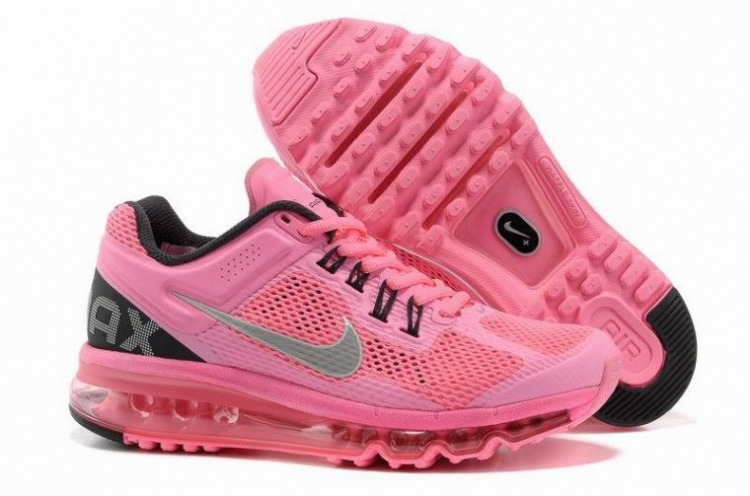 Woman Nike Air Max 2013 Pink/Silver/Black M21071