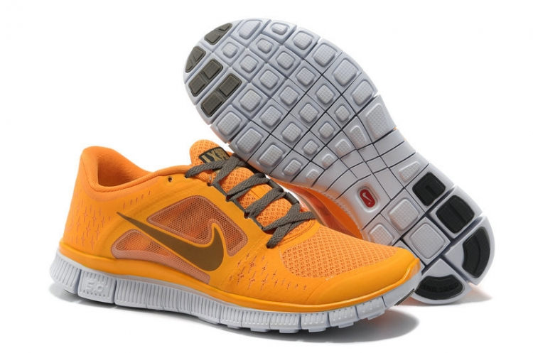 Nike Free Run 3 Women Gray Yellow R3F344