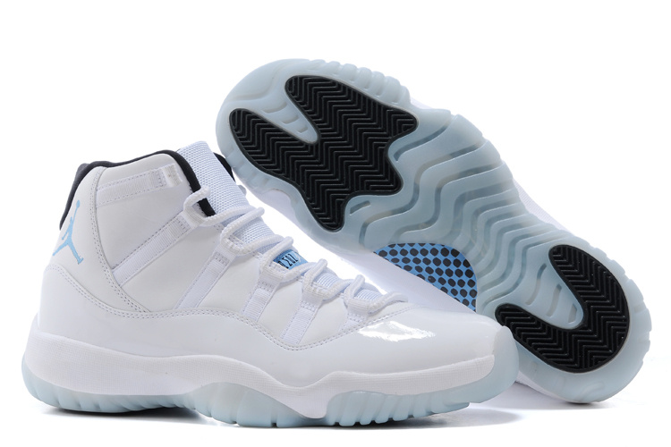 2014 Air Jordan 11 Retro Legend Blue White Black Legend Blue