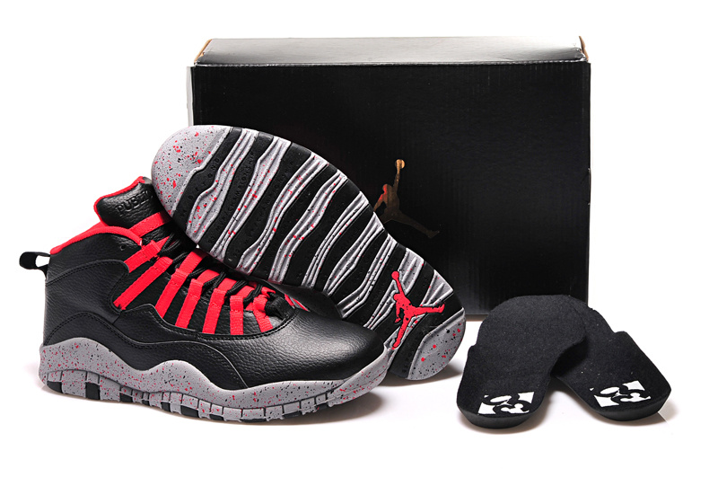 2015 Air Jordan 10 Public School Black