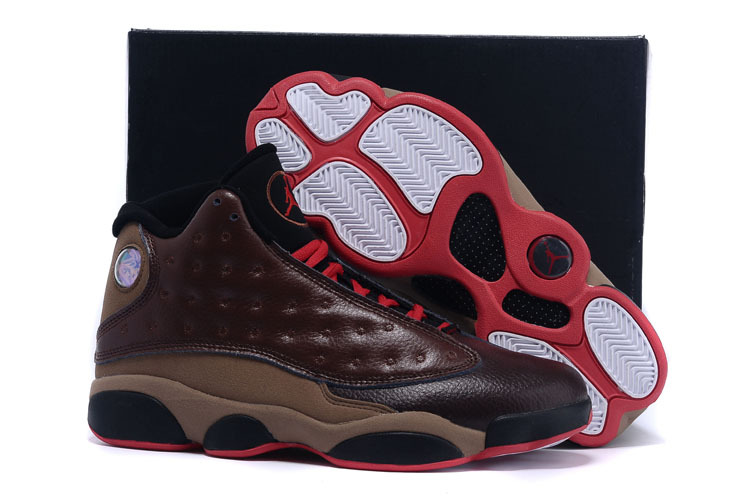 2015 Air Jordan 13 Custom By Damien Brown Black Red