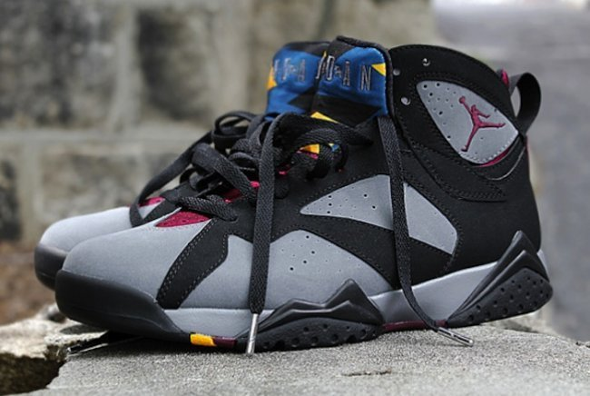 2015 Air Jordan 7 Bordeaux Shoes
