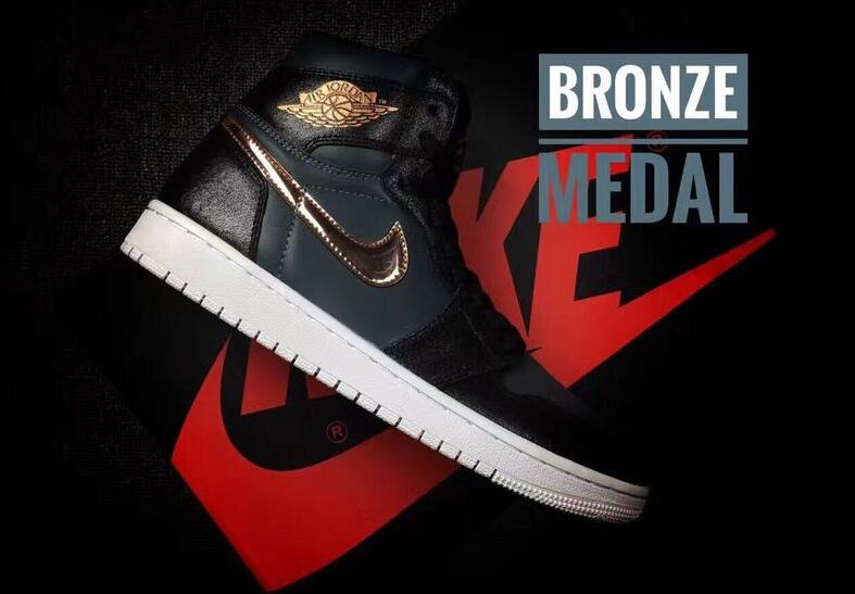 2016 Air Jordan 1 Retro High Bronze Medal Shoes