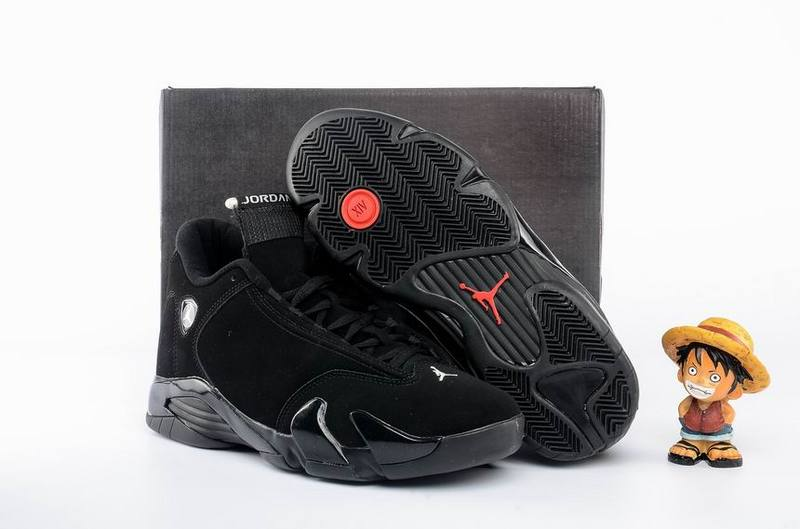 2016 Air Jordan 14 All Black Shoes