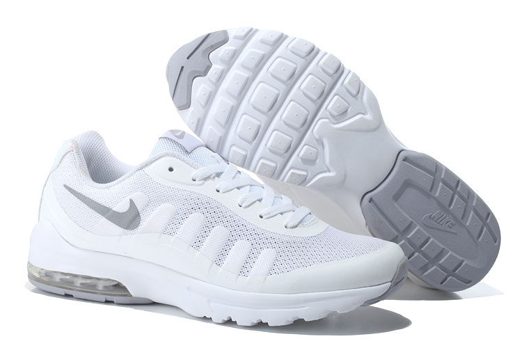 2016 Women Nike Air Max 95 All White Shoes
