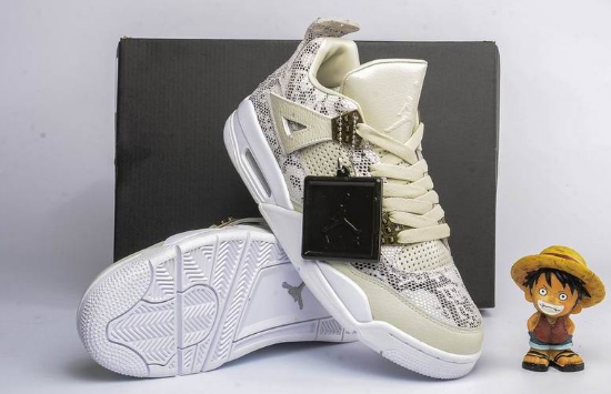 2017 Air Jordan 4 PRM Snakeskin Shoes