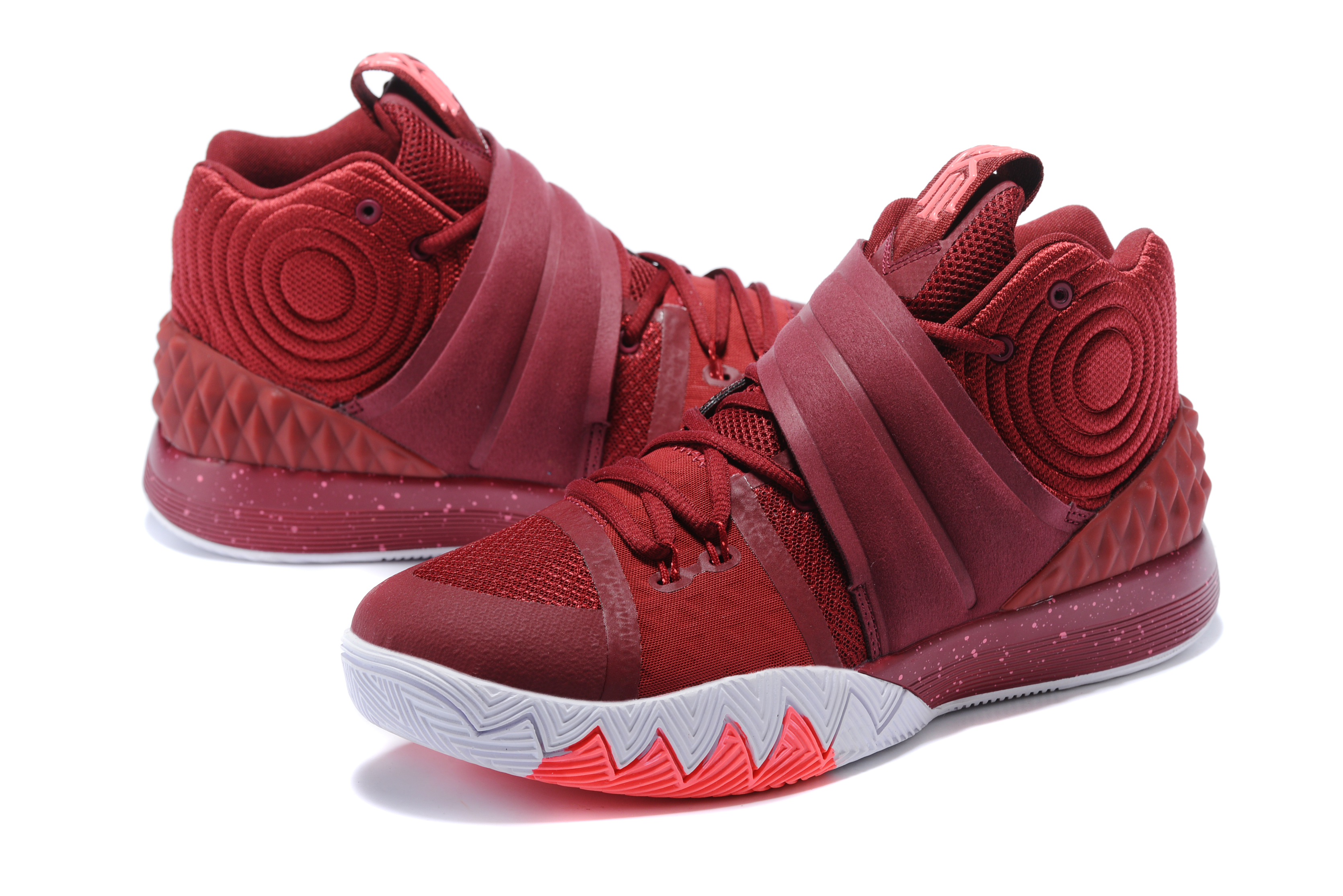 2017 Men Kyrie S1HYBRID Wine Red Shoes
