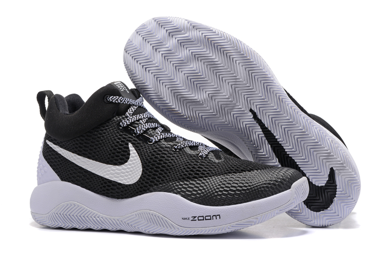 2017 Men Nike Hyperrev 2017 Black White Shoes