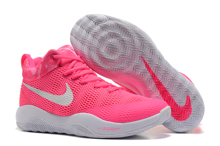 2017 Men Nike Hyperrev 2017 Breast Cancer Shoes