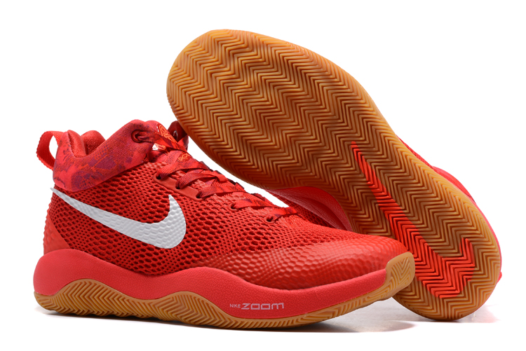 2017 Men Nike Hyperrev 2017 Red Gum Sole Shoes