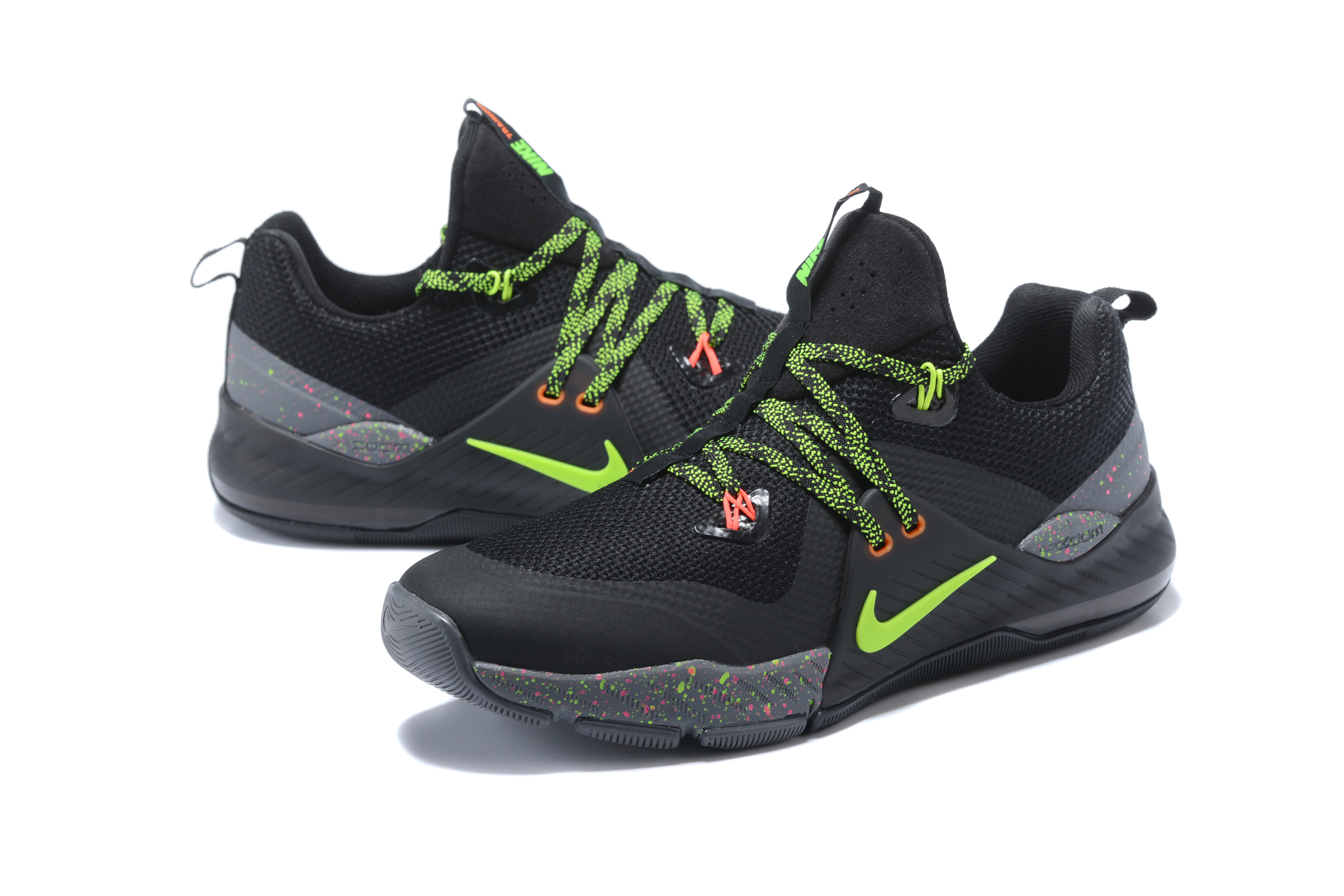 2017 Nike Air Zoom 2 Black Green Shoes