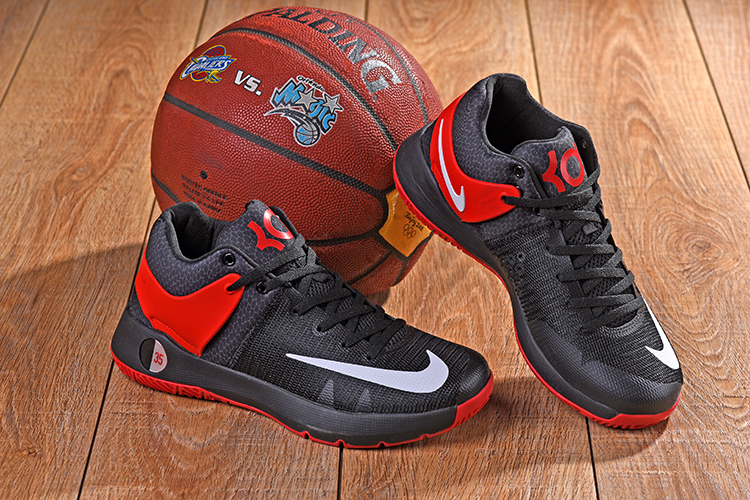 2018 Men Nike KD Trey 5 IV Black Red Shoes