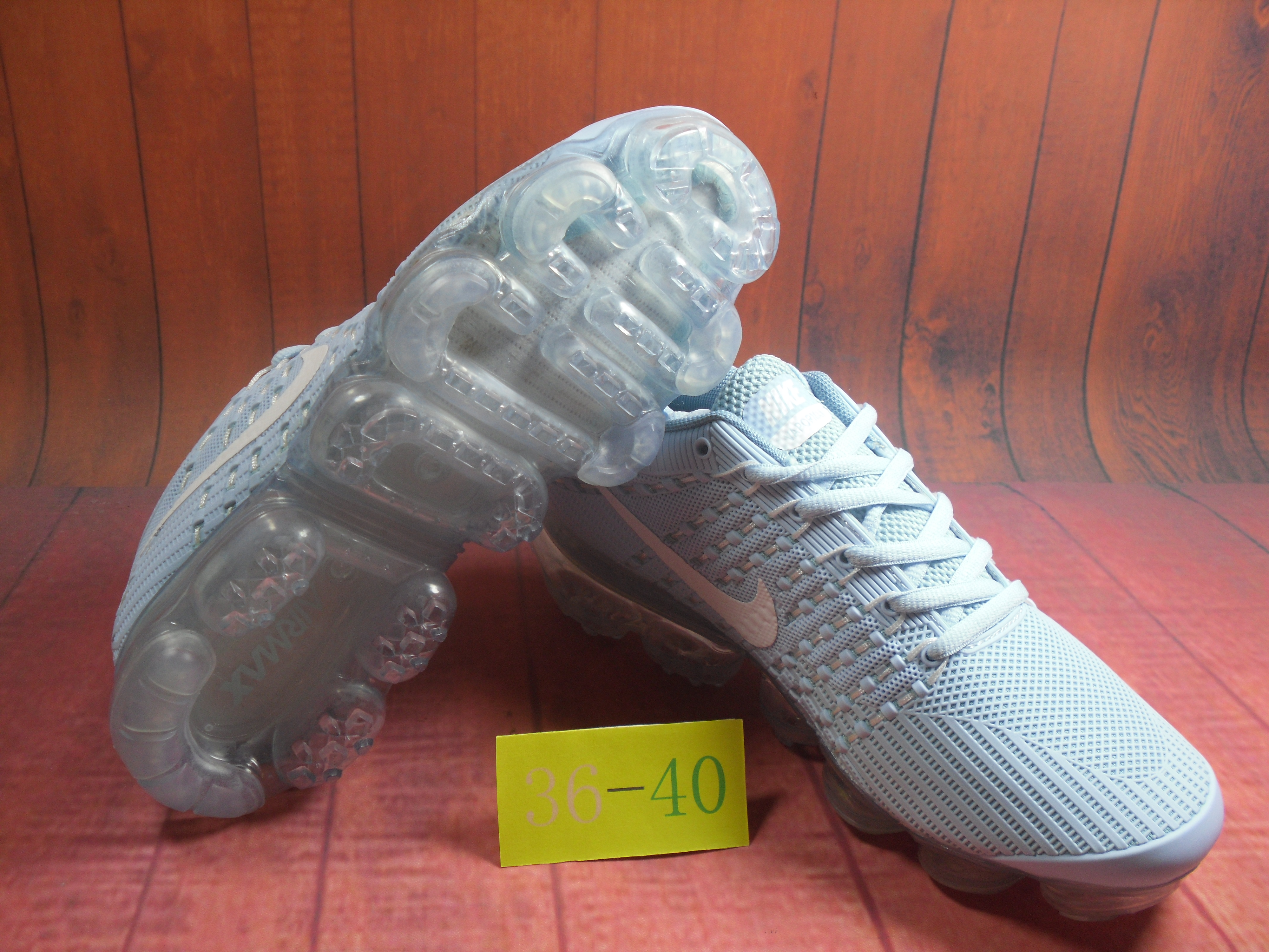 New Nike Air VaporMax Flyknit KPU Gint Green White