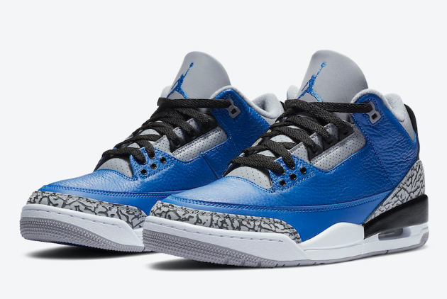 Cheap jordan 3 varsity royal varsity royal cement grey shoes