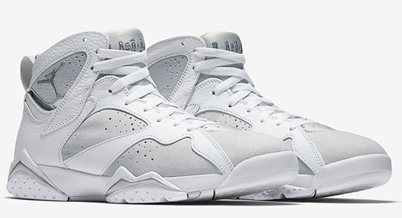 Air Jordan 7 Pure Platinum Shoes