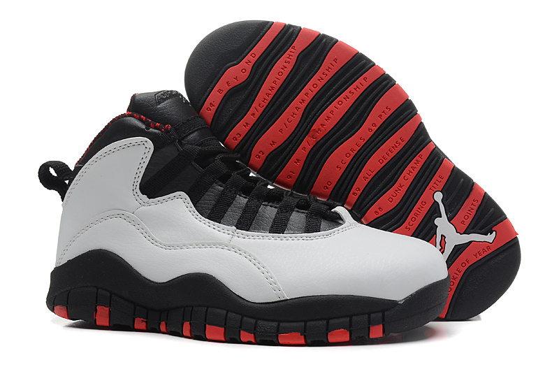 Air Jordan 10 X Retro Chicago White Varsity Red Black