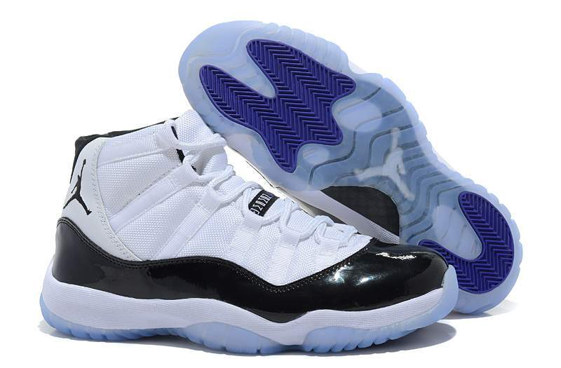 Air Jordan 11 Retro White Black Dark Concord Cheap