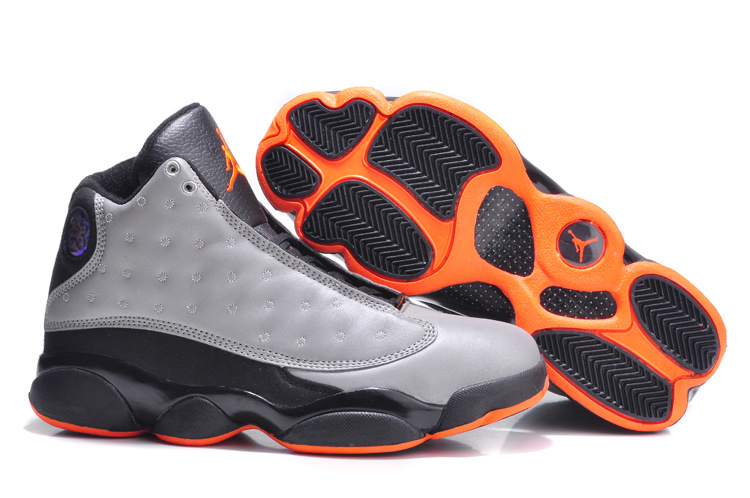 Air Jordan 13 Retro 3M Reflective Silver Infrared 23 Black