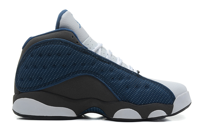 Air Jordan 13 Retro French Blue Flint Grey White