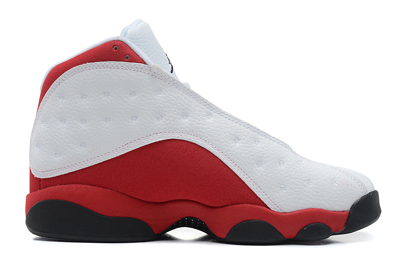 Air Jordan 13 Retro Mens White Black Varsity Red