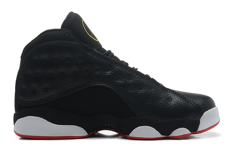 Air Jordan 13 Retro Playoffs Black Varsity Red White Vibrant Yellow
