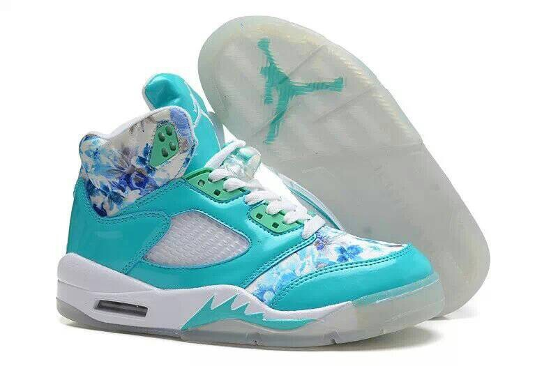 Air Jordan 5 GS Blue Cherry Blossom
