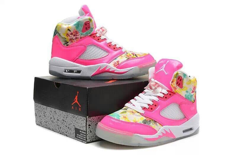 Air Jordan 5 GS Pink Cherry Blossom