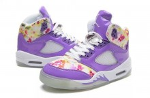 Air Jordan 5 GS Purple Cherry Blossom