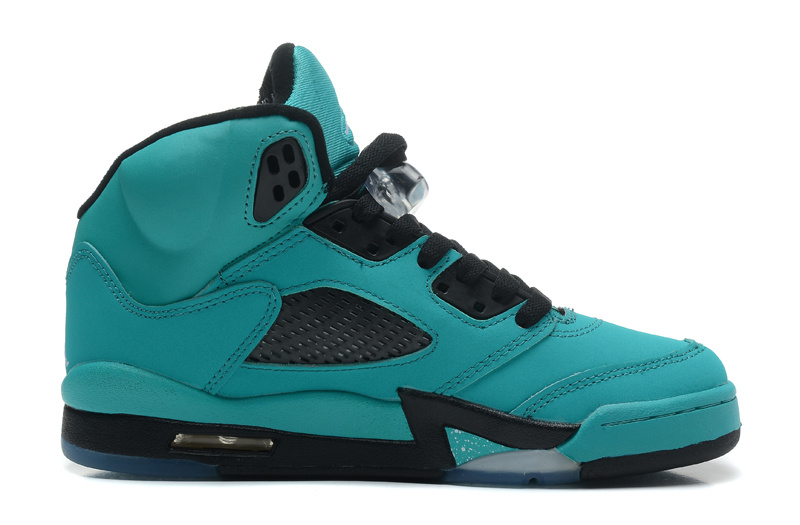 Air Jordan 5 Retro Tiffany Tiffany Blue Black Diamond Icy Blue