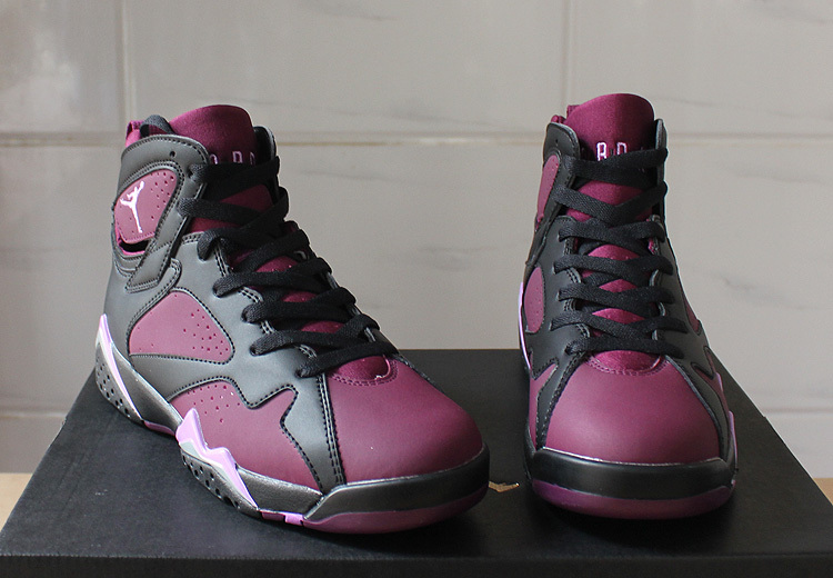 Air Jordan 7 GS Mulberry Purple Black Shoe