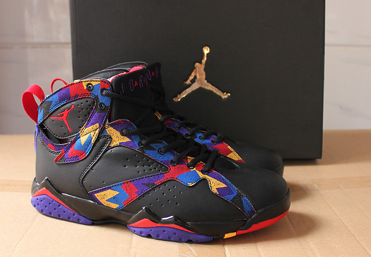 Air Jordan 7 Nothing But Net Black Sweater Shoes