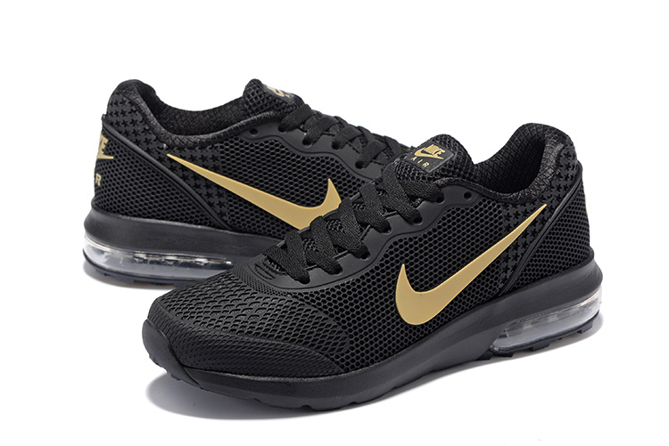 Air Max 2018 Black Gold Running Shoes