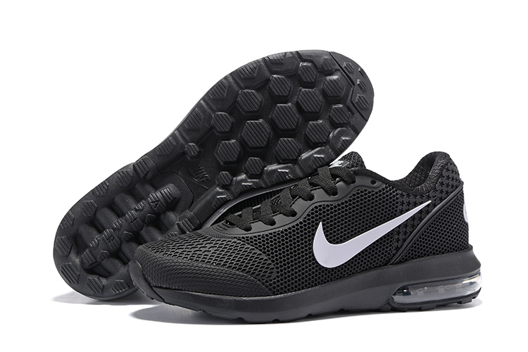 Air Max 2018 Black White Running Shoes