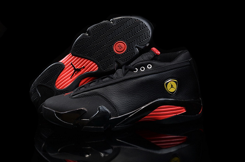 Air Jordan 14 Shoes 2015 Mens Low Ferrari Black Red