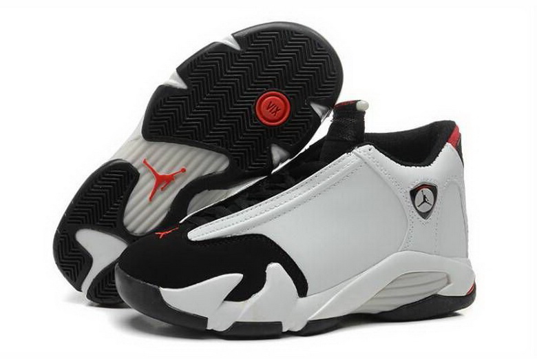 Air Jordan 14 Shoes 2015 Mens White Black