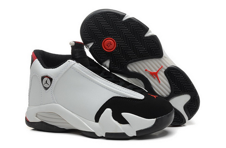 Air Jordan 14 Shoes 2015 Womens White Black