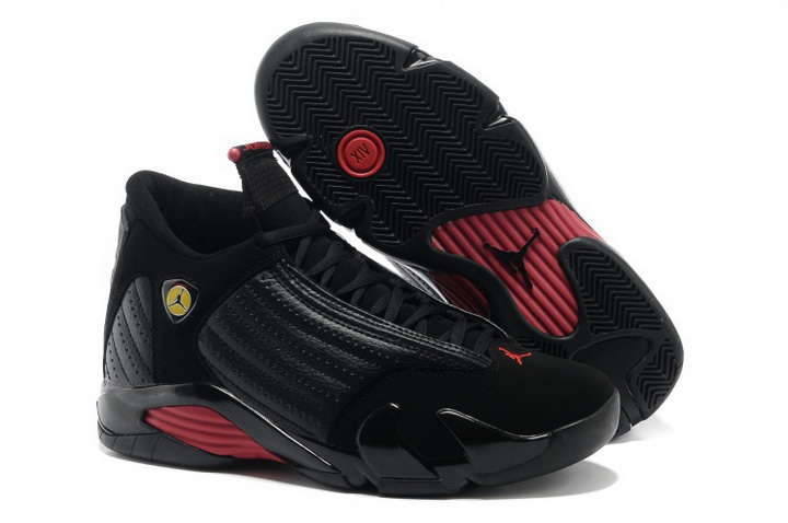 Air Jordan 14 XIV Shoes 2013 Mens Black Red