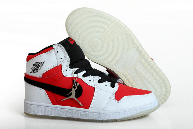 Air Jordan 1 Shoes 2014 Mens Grade AAA White Black Red