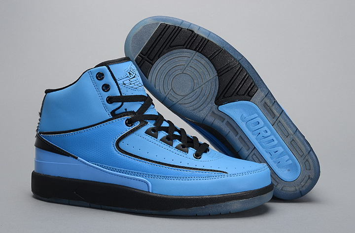 Air Jordan 2 Shoes 2014 Mens Blue Black