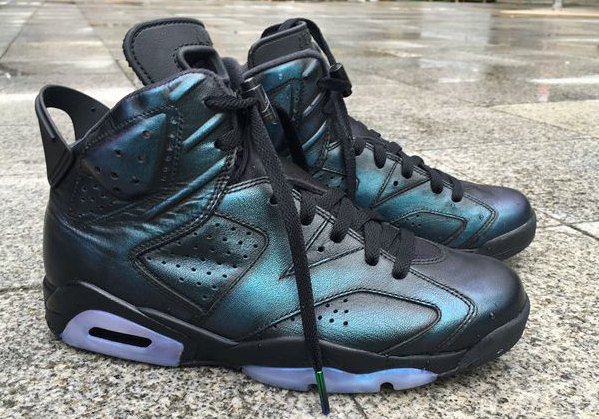 All-Star Air Jordan 6 Chameleon Shoes
