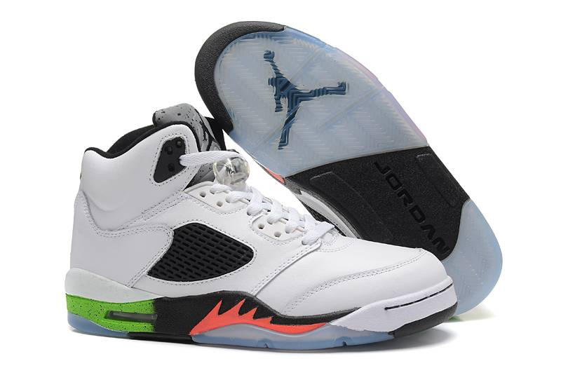 Cheap Jordan 5 Gradient Infrared 23 Light Poison Green 2015