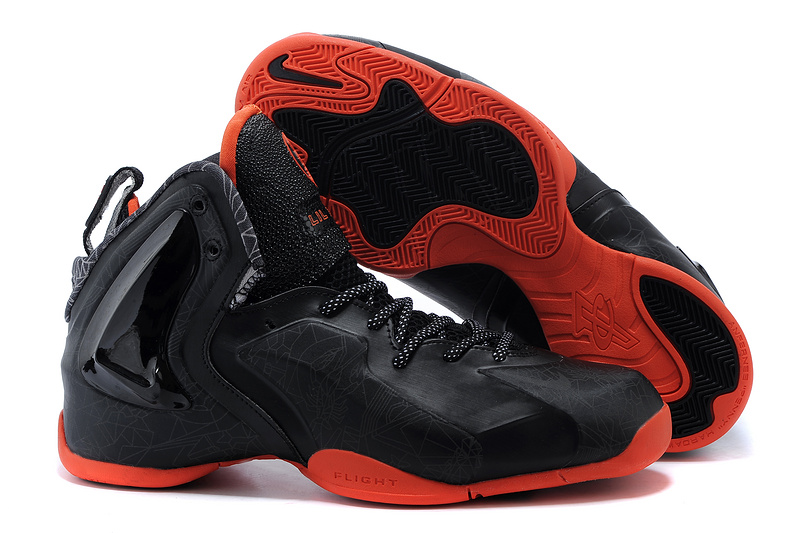 Fashion Nike Lil Penny Posite Black Black University Red 652121 001