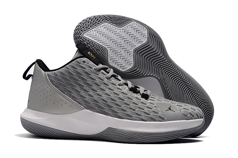 Jordan CP3 12 Grey Black Shoes