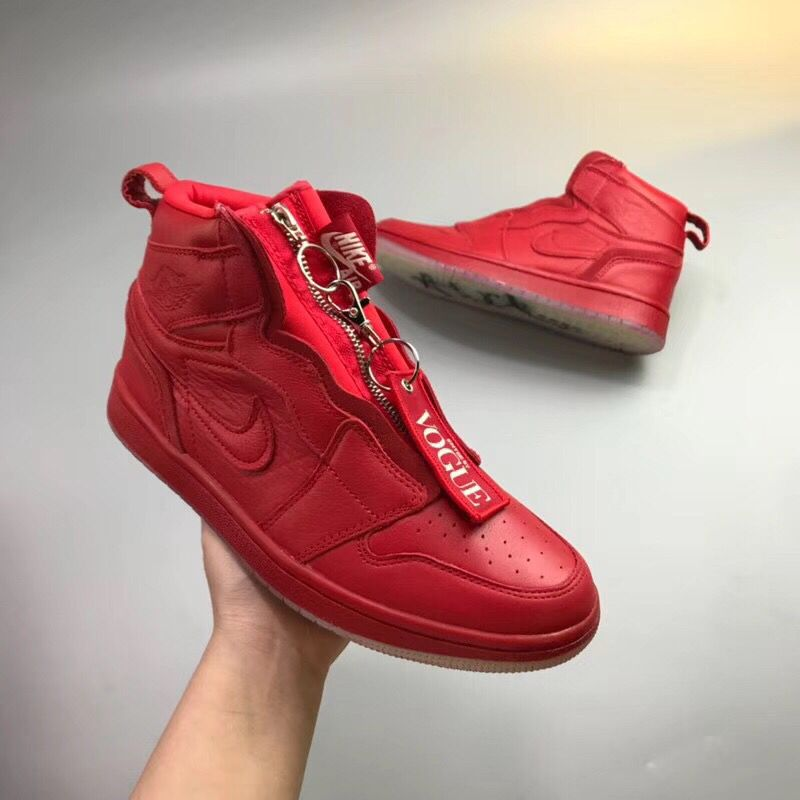 Jordan Shoes 1 Zip AWOK Bold Red For Sale