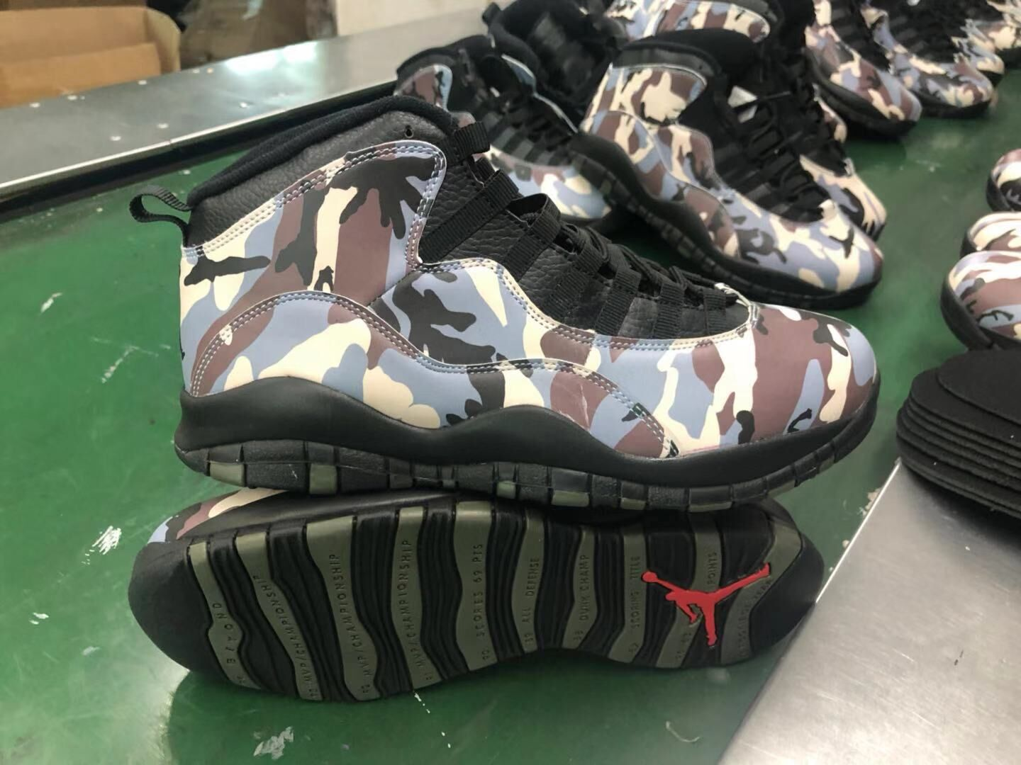 Jordan Shoes 10 The Army Color For Sale