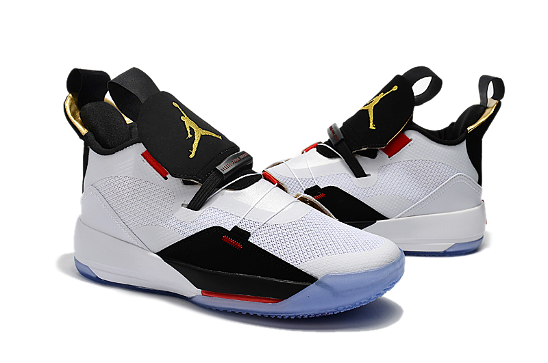 Jordan Shoes 33 White Black Red For Sale