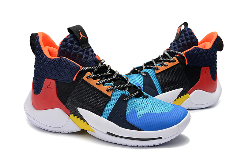 Jordan Westbrook 2 Black Dark Blue Orange For Cheap