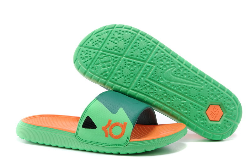KD Slides Pine Green Orange Atomic Teal 631402 303