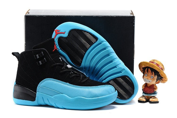 Kids Air Jordan 12 Retro Gamma Blue 2016 Shoes