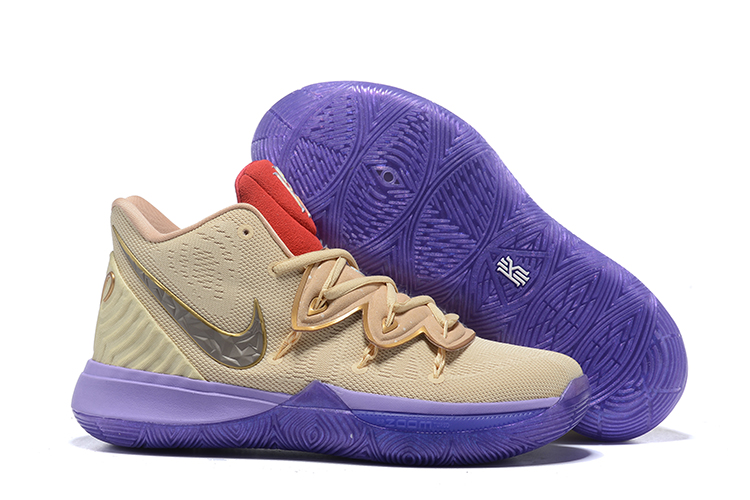 Kids Nike Kyrie 5 Khaki Egypt Shoes